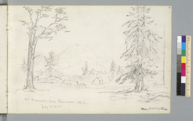 [Mount Rainier from Steilacoom, Washington Territory, July 16, 1855]