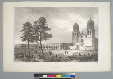 [View of Mission San Luis Rey, Santa Margarita Valley, California]