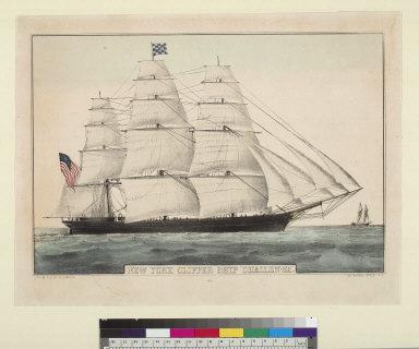 "New York clipper ship ""Challenge"""