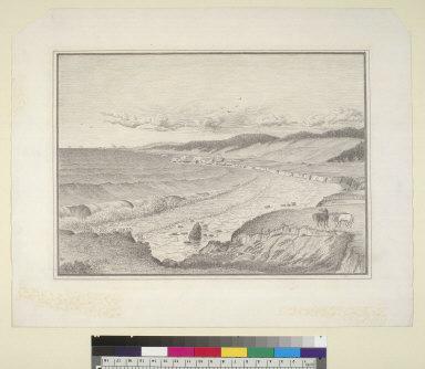 [North from Fisherman Bay to Gualala, Mendocino County, California]