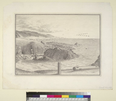 [South from Fisherman Bay, Black Point looking toward Stewart's Point, San Francisco, California]