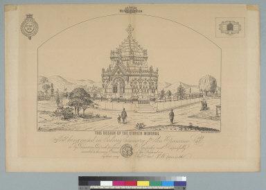 [Design of the O'Brien Memorial, Calvary Cemetery, San Francisco, California]