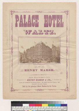 Palace Hotel waltz [Henry Marsh]