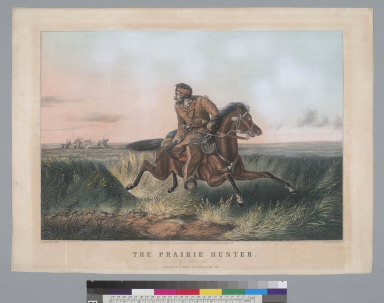 """The prairie hunter: """"One rubbed out!"""""""