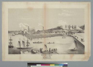 Puget Mill Co's Mills, Teekalet W[ashington] T[erritory]