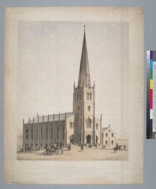 [Design for Saint Mary's Church, San Francisco, California]