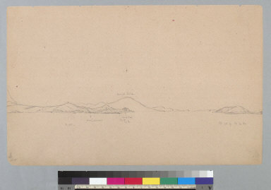 [San Francisco and part of the bay from the south, California]
