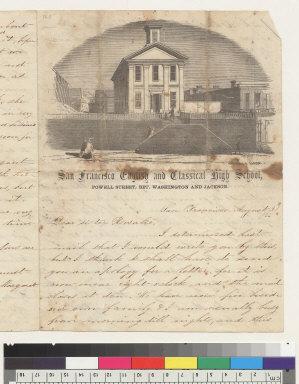 San Francisco [California] English and Classical High School, Powell Street, bet[ween] Washington and Jackson