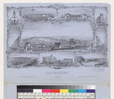San Francisco [California] 1852