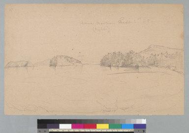 [Sucia Harbor, September 1st, 1858, Washington]