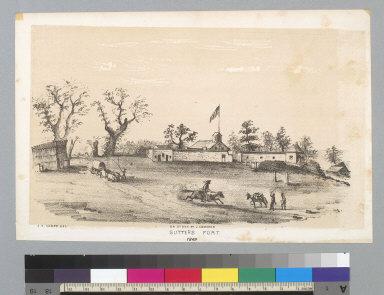 Sutter's Fort [California], 1849