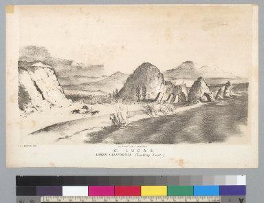S[ain]t Lucas: lower California looking east