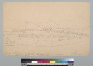 Mission of San Diego, [California] July 1856