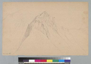 [View of Cascade Range?, Washington]