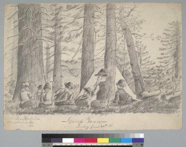 Camp Vann: Mt. San Hendrin, Mendocino Co[unty] Cal[ifornia]
