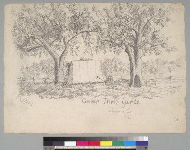 Camp Three Girls: Sonoma Co[unty] Cal[ifornia]