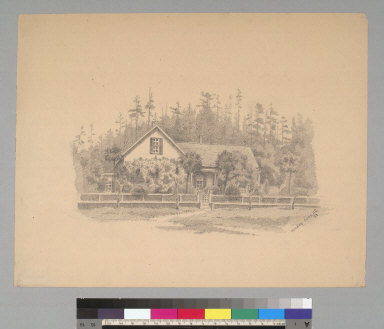 [Country residence, Sonoma County, California]