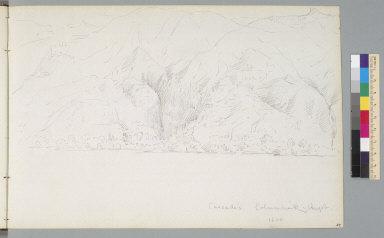 [Cascade Mountains, Columbia River, August 1850, Oregon/Washington]