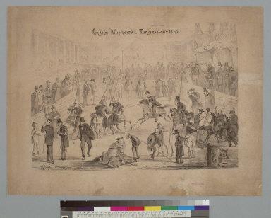 Grand municipal turn'em-out 1866