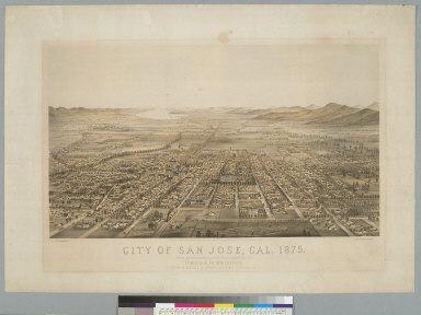 City of San Jose, Cal[ifornia] 1875