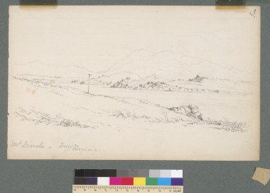 Mt Diavolo, from Benicia [Mount Diablo, California]