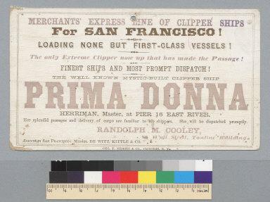 Prima Donna [ship]