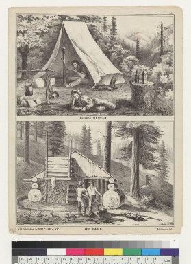 Sunday morning/Log cabin