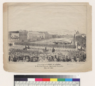 Executions of Casey & Cora, by the San Francisco Vigilance Committee May 22nd, 1856 [California]