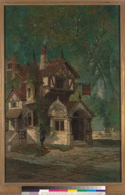 [Mine Inn : Tudor Building in Forest]