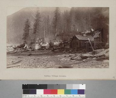"""Indian village, Juneau,"" Alaska. [photographic print]"