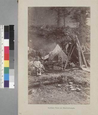 """Indian tent at Harrisburg."""