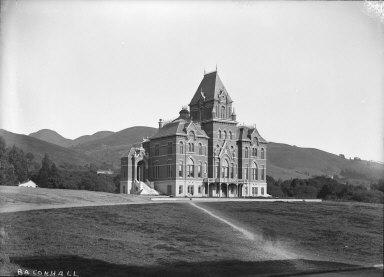 """Bacon Hall,"" University of California at Berkeley. [negative]"