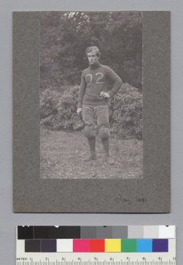 """Clay, U.C. football, 1899,"" University of California at Berkeley. [photographic print]"