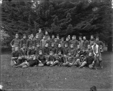 Football team, University of California at Berkeley. [negative]