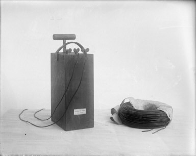 Detonator and fuses, California Cap Company. [negative]