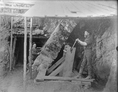 Miners in mine. [negative (copy)]