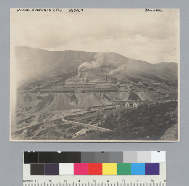 Virginia City, Nevada, from Cemetery Hill, S.W. [photographic print]
