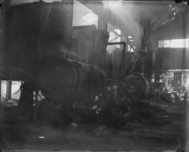 Steel works, Bessenmetz. [negative]