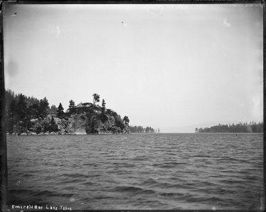 Emerald Bay, Lake Tahoe, California. [negative]