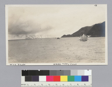 First view of train, Great White Fleet, San Francisco. [photographic print]