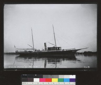 El Primero (steam yacht), Brannan Island, Sacramento River. [photographic print]