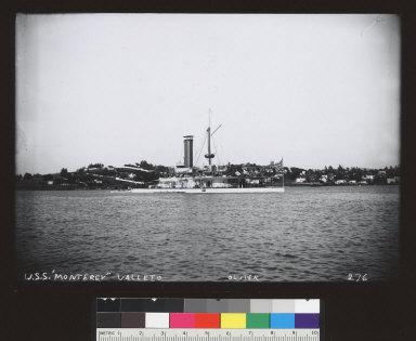 USS Monterey (ship), Vallejo. [photographic print]