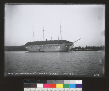 USS Independence (ship), Mare Island. [photographic print]