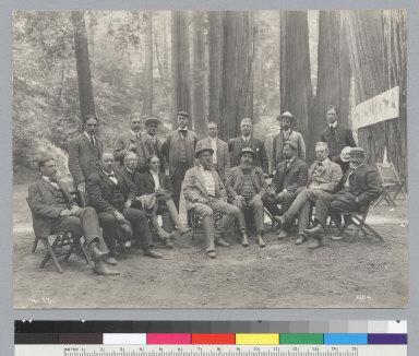 Group portrait of men, Bohemian Grove. [photographic print]