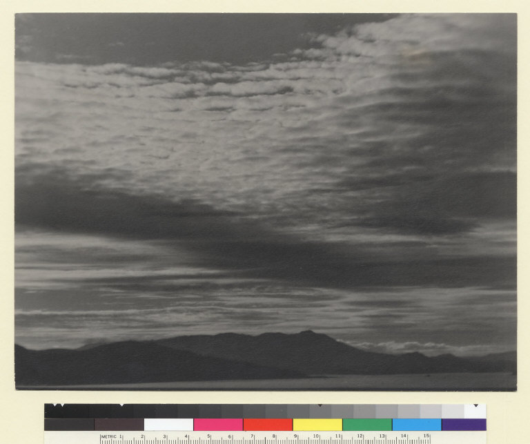 117571, Clouds over San Francisco. [photographic print]